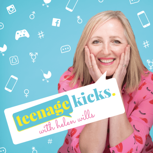 Teenage Kicks mental health podcast with Helen Wills