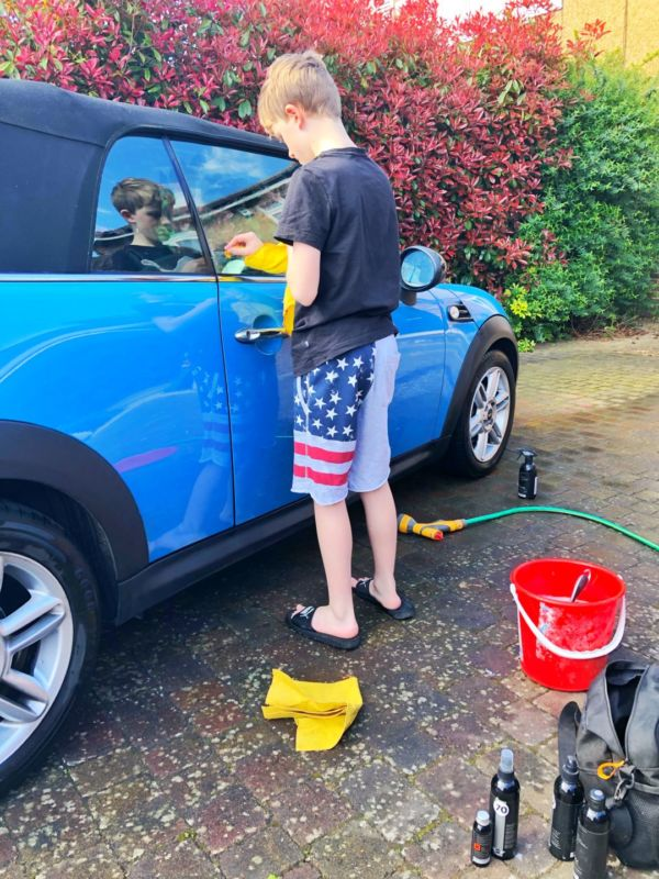 Washing your own car - the new normal after lockdown