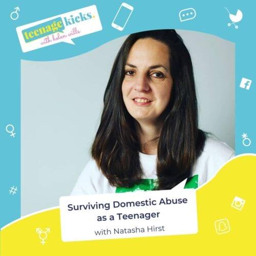 Natasha survived domestic abuse as a teenager