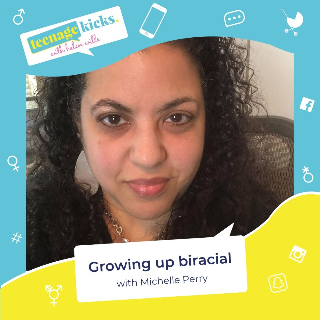 Michelle Perry on growing up biracial in a white family