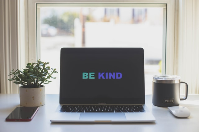 Be kind is still an important message as we take on anti-racist work. Whatever you're trying to change, kindness matters