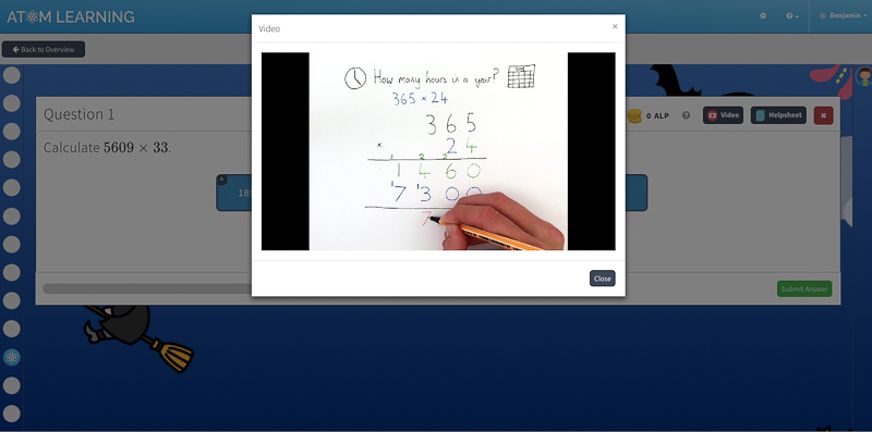Maths online learning key stage 2