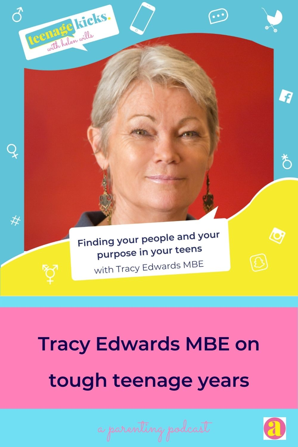 Tracy Edwards MBE was expelled from school at 15, and went on to skipper record-breaking yachts. She's now a champion for girls education