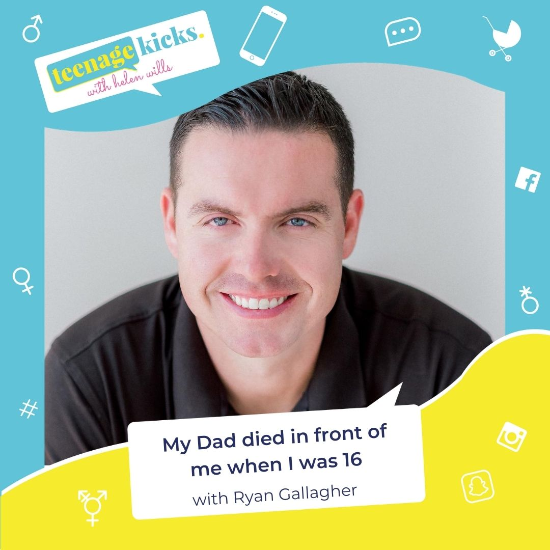 Ryan Gallagher on losing a parent as a teenager