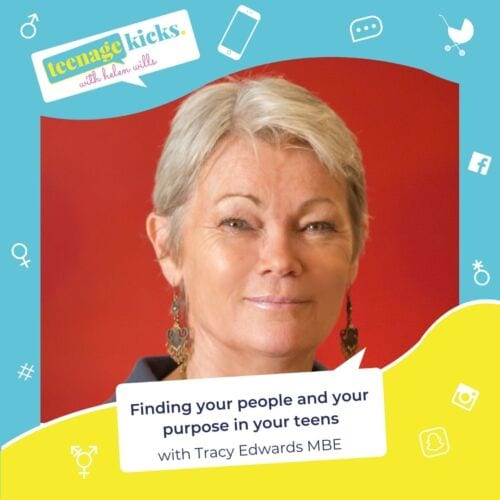 Finding your tribe and your purpose with Tracy Edwards MBE podcast episode