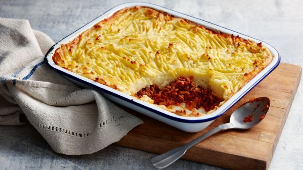 Shepherd's pie is a staple meal for a family with teenagers