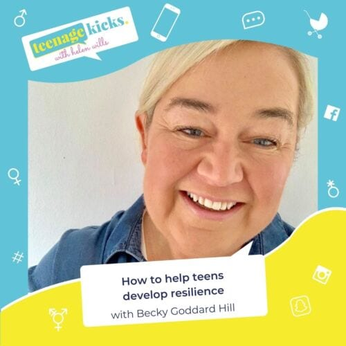 How to create resilience in teens - interview with Becky