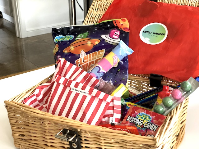 A retro sweet hamper makes a great gift for the teenager who has everything