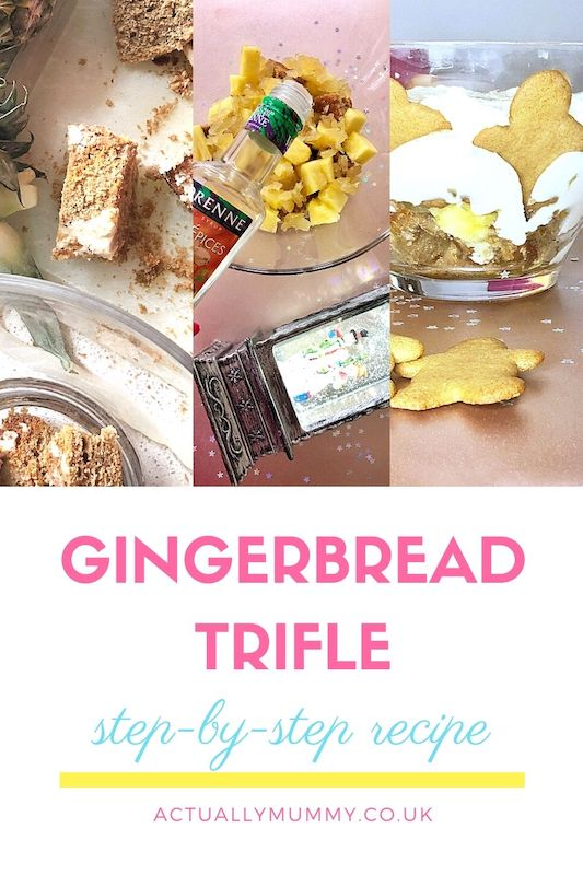 A gingerbread trifle recipe to use up Christmas leftovers