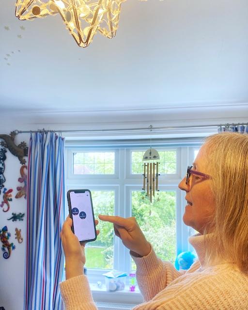 Setting up the Hive smart light bulb on the Hive app
