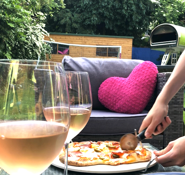 Why we got an outdoor pizza oven
